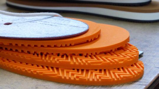 Suelas de calzado elaboradas con los mejores materiales