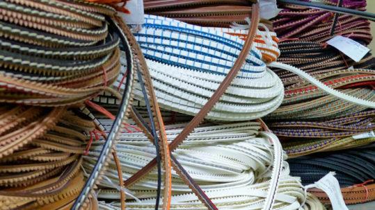 Materiales para la fabricación de suelas de Majoma