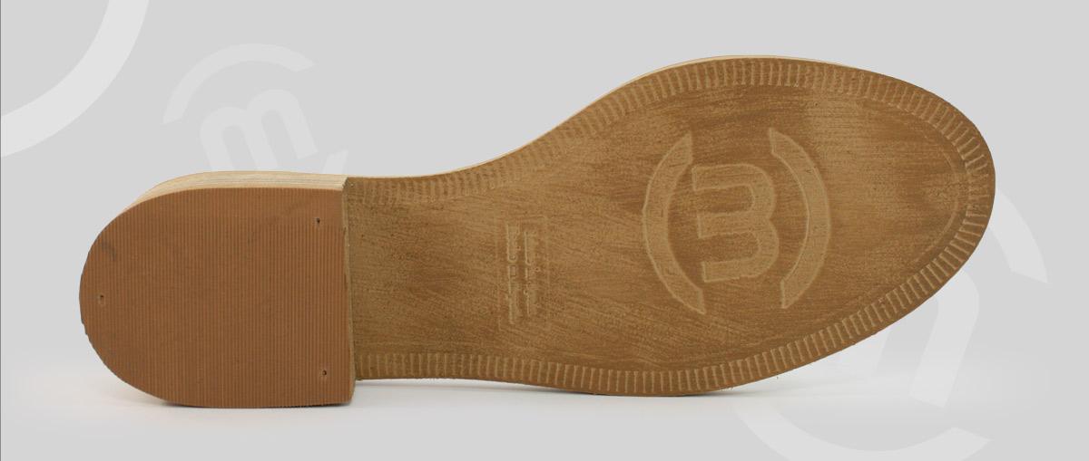 Suela de calzado con diseño exclusivo para tu marca