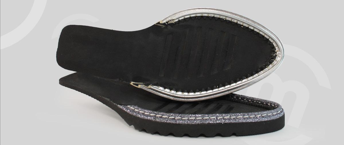 Suelas de zapatos cómodas hechas por Majoma
