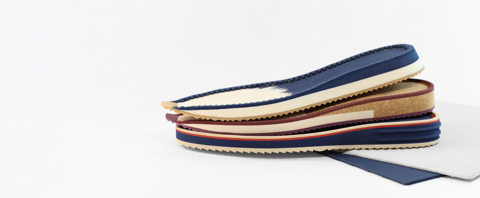 Suelas para calzado hechas con materiales y pieles de primera calidad
