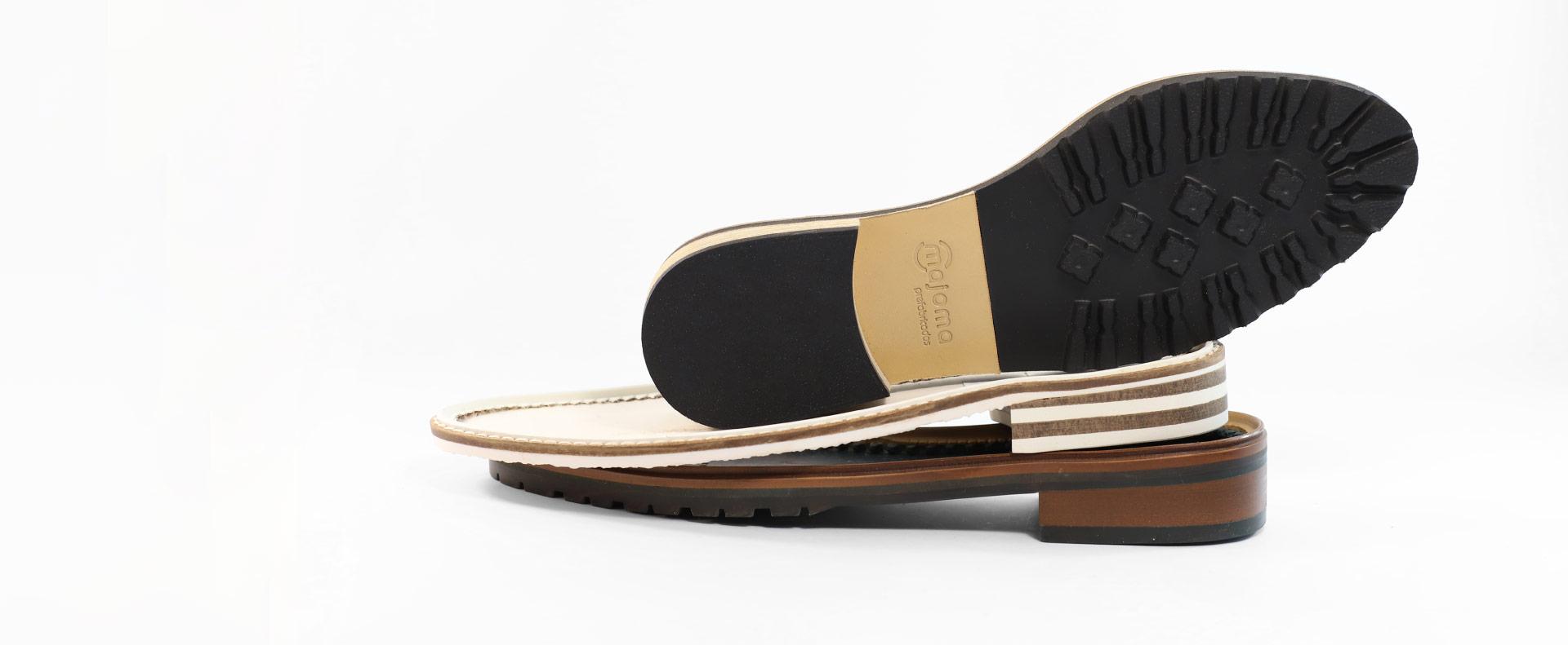 Suelas para tus zapatos hechas con materiales y pieles de primera calidad
