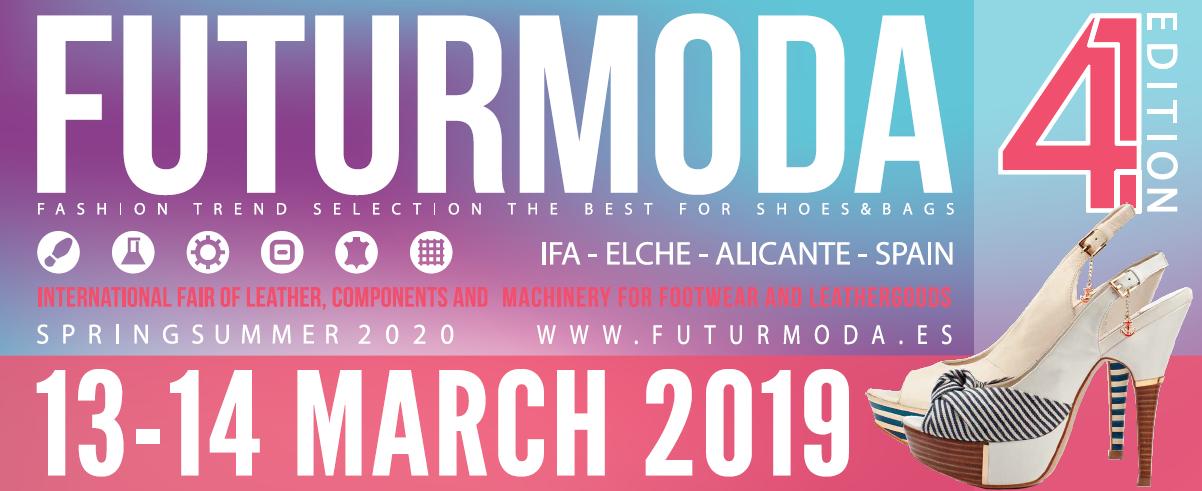Cartel de la feria de futurmoda para la campaña Primavera-Verano 2020
