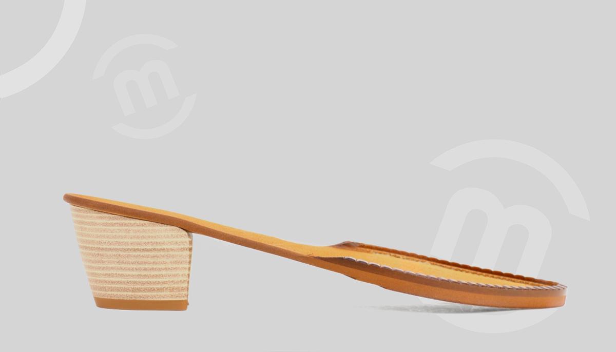 Suelas adaptadas para tacón