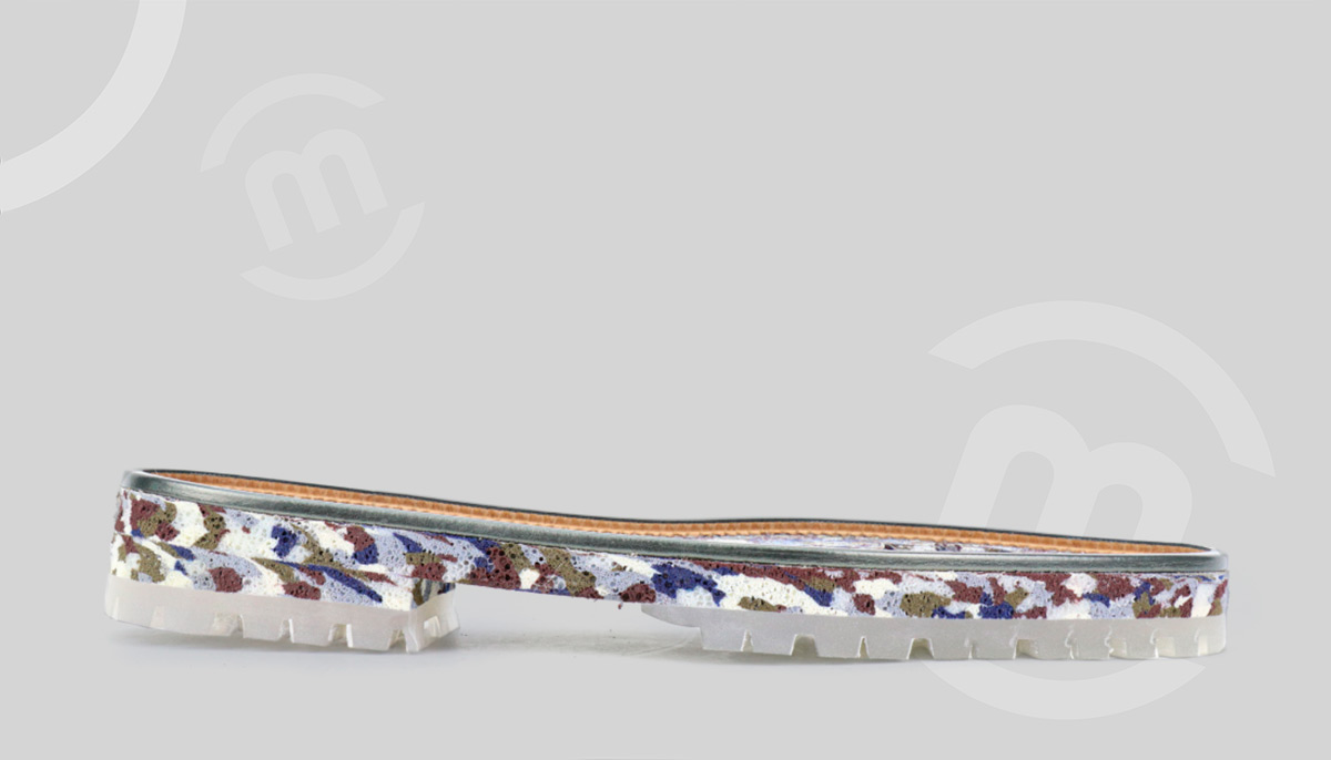 Suela de calzado a medida con corcho