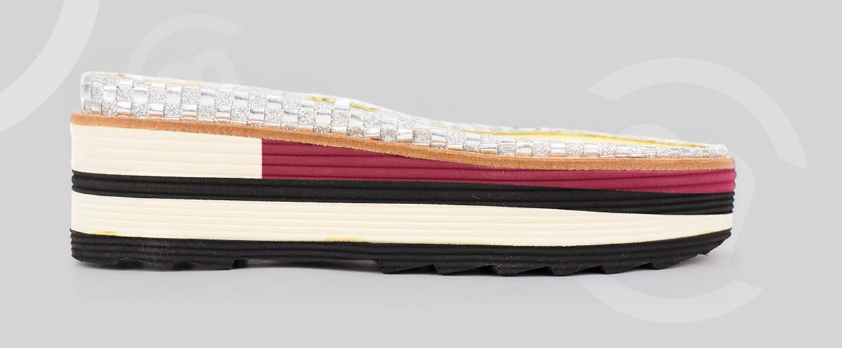 Suela XL para línea de calzado joven y fresca